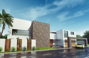高級戸建住宅パース