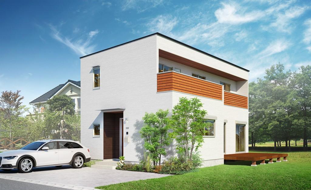 戸建住宅の外観CG