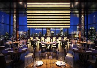 レストラン建築パース