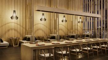 和風海鮮料理店のイメージCGパース